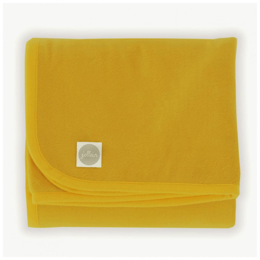 Paturica bebe Jollein Mustard 75x100 cm