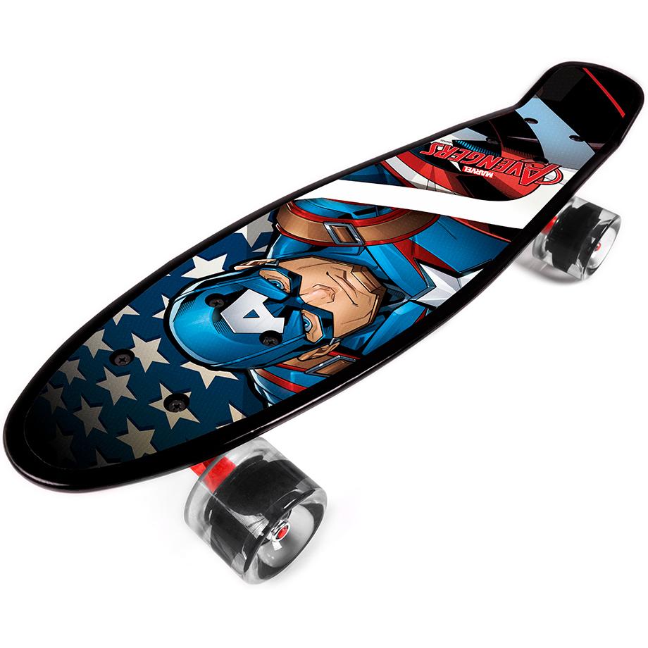 Penny board Captain America Seven imagine
