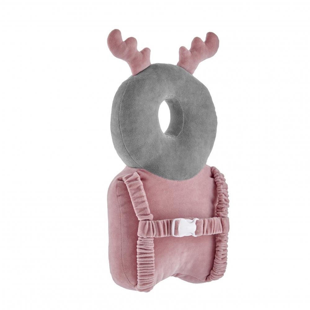 Pernuta protectie spate si cap BabyJem Angel Wings Protect Deer Pink