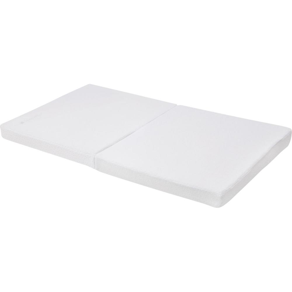 Saltea pliabila mini 80x45x5 cm KikkaBoo Velvet White