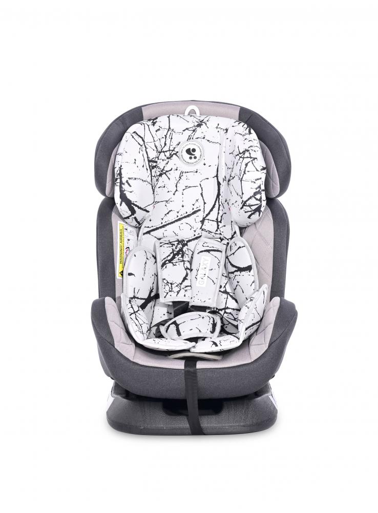 Scaun auto Galaxy 0-36 kg Grey Marble imagine