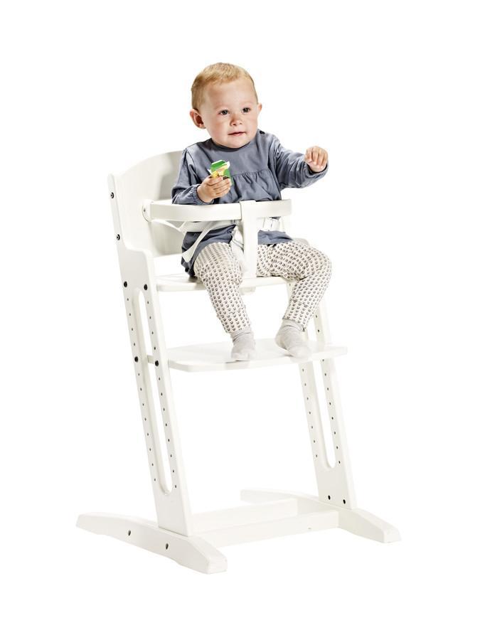 Scaun transformabil alb pentru copii Danchair BabyDan