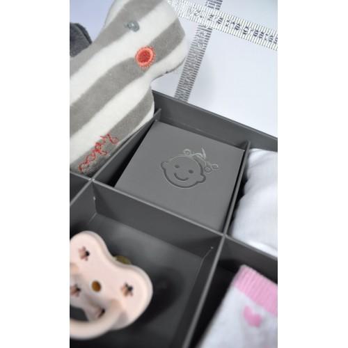 Set cadou cutie amintiri si kit amprenta bebe