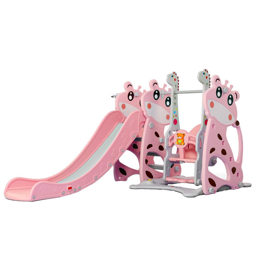 Spatiu de joaca 3 in 1 Nichiduta Deer Pink imagine