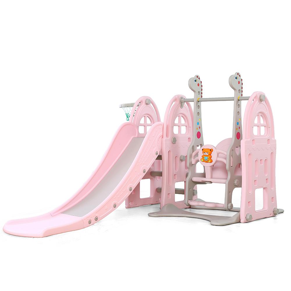 Spatiu de joaca 3 in 1 Nichiduta Garden Happy Kid Pink