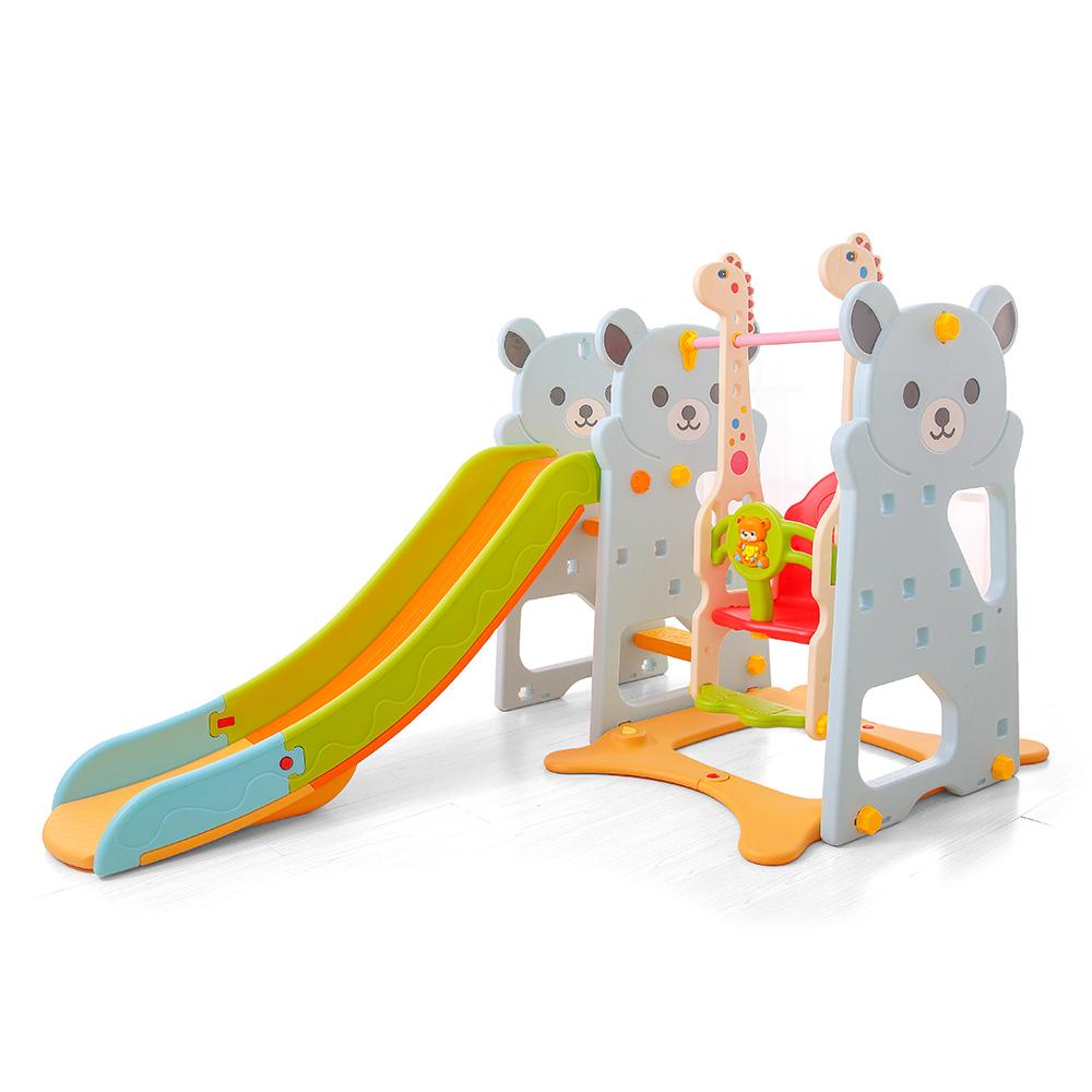 Spatiu de joaca Nichiduta Little Bear Blue 3 in 1
