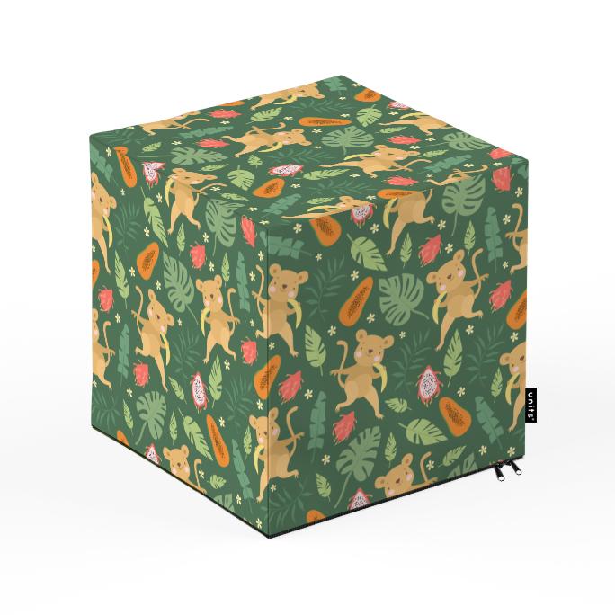 Taburet Units cub Maimute 30 x 30 x 30 cm