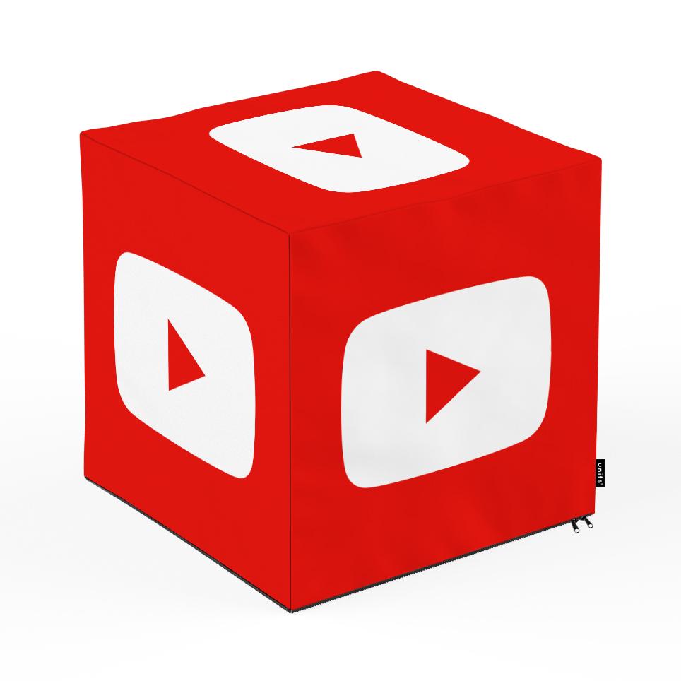 Taburet Units cub Social Media 3 45 x 45 x 45 cm