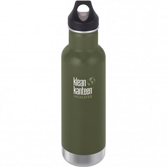 Termos din otel inoxidabil 592 ml cu capac ermetic Klean Kanteen Classic Fresh Pine