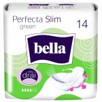 Absorbante Bella Perfecta Slim Green Silk Drai, 14 buc