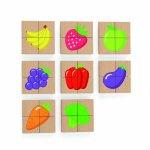 Blocuri magnetice cu imagini fructe Viga
