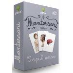 Carti joc Montessori Corpul uman
