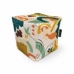 Fotoliu Units Puf Bean Bags tip cub impermeabil abstract jungle