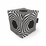 Fotoliu Units Puf Bean Bags tip cub impermeabil abstract zebra