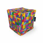 Fotoliu Units Puf Bean Bags tip cub impermeabil lego tetris