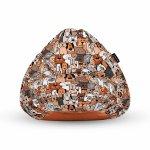 Fotoliu Units Puf Bean Bags tip para impermeabil cu maner invazia animalelor
