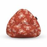 Fotoliu Units Puf Bean Bags tip para impermeabil cu maner teddy bear caramiziu
