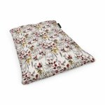 Fotoliu Units Puf Bean Bags tip perna impermeabil flori si fluturi