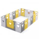 Gardulet loc de joaca 160 x 240 cm Nichiduta Birdy Yellow/Grey