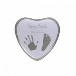 Cutie in forma de inimioara pentru mulaj manuta sau piciorus Happy Hands