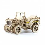 Jeep Willys MB 4x4 puzzle 3D mecanic