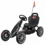 Kart cu pedale Ferrari Go Kart Black