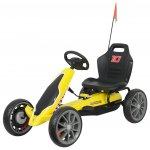 Kart cu pedale Ferrari Go Kart Yellow
