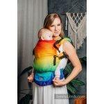 Marsupiu LennyUpGrade Carrier Rainbow Baby