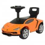 Masinuta de impins Lamborghini 3726A portocaliu