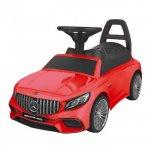 Masinuta de impins cu led si sunete Mercedes S65 AMG rosu