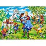 Puzzle Castorland Snow White happy ending 120 piese
