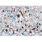 Puzzle Clementoni Impossible 101 Dalmatians 1000 piese dificile
