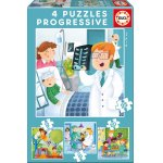 Puzzle Educa I want to Be 12/16/20/25 piese