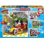 Puzzle Educa Mickey and the Roadster Racers 12/16/20/25 piese
