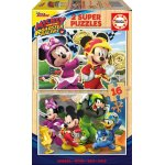 Puzzle Educa Mickey and the Roadster Racers 2x16 piese