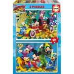 Puzzle Educa Mickey and the Roadster Racers 2x20 piese