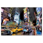 Puzzle Educa Times Square New York 1000 piese include lipici puzzle