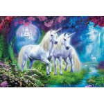 Puzzle Educa Unicorns in the forest 500 piese include lipici puzzle