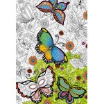 Puzzle de colorat Educa All Good Things are Wild and Free 300 piese include lipici puzzle