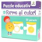 Puzzle educativ Forme si culori