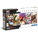 Puzzle panoramic Clementoni Marvel 80 Years 1000 piese
