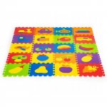 Salteluta educationala puzzle ECOEVA003, 20 de elemente