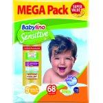 Scutece Babylino Sensitive Megapack Junior Plus N5+ 68 buc