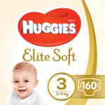 Scutece Huggies Elite Soft 3 5-9 kg 160 buc