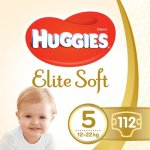 Scutece Huggies Elite Soft 5, 12-22 kg 112 buc