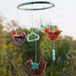 Set creativ Primul meu carusel cu pasari