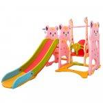 Spatiu de joaca Nichiduta Little Bear Pink 3 in 1