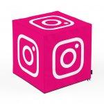 Taburet Units cub Social Media 1 45 x 45 x 45 cm