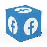 Taburet Units cub Social Media 2 45 x 45 x 45 cm