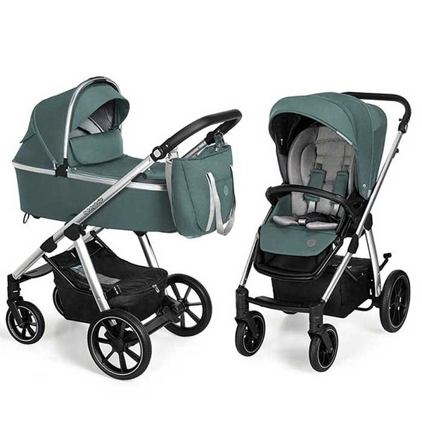 Carucior multifunctional 2 in 1 Baby Design Bueno 205 Turquoise 2020